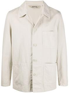 Aspesi куртка-рубашка с карманами