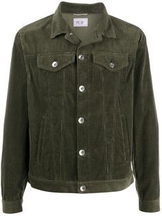 Brunello Cucinelli вельветовая куртка с заостренным воротником
