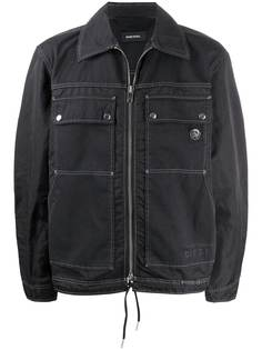 Diesel куртка на молнии
