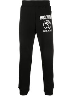Moschino Double Question Mark track pants