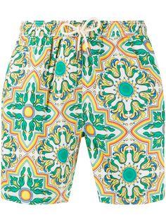 Mc2 Saint Barth плавки-шорты с графичным принтом