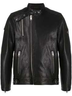 Diesel байкерская куртка на молнии