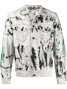 Diesel джинсовая куртка Nhill-Sp3 с принтом тай-дай