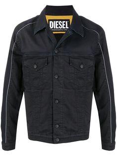 Diesel джинсовая куртка с контрастной окантовкой