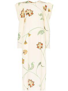 Johanna Ortiz платье макси Splashing с цветочным принтом