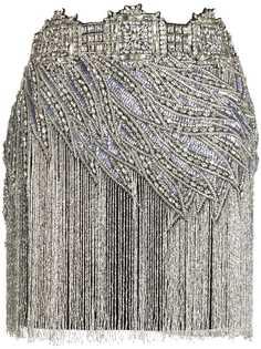 Amen юбка мини с кристаллами