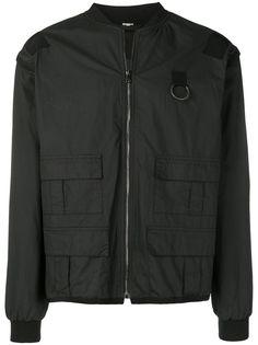 Gucci куртка-бомбер с логотипом