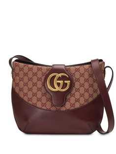 Gucci сумка на плечо Arli среднего размера с узором GG