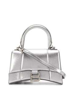 Balenciaga сумка Hourglass XS с верхней ручкой