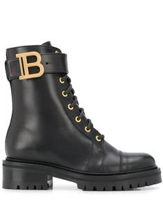 Balmain ботинки Ranger с металлическим логотипом