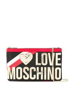 Love Moschino сумка через плечо с логотипом