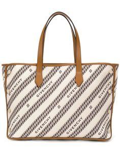 Givenchy жаккардовая сумка-тоут Bond среднего размера
