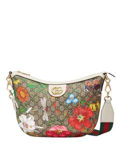 Gucci сумка на плечо GG Flora