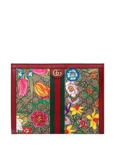 Gucci клатч Ophidia с узором GG Floral