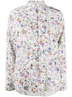 Isabel Marant блузка с геометричным принтом