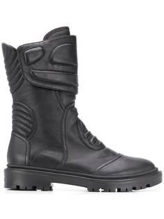 Casadei дутые байкерские ботинки