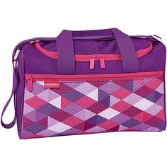 Спортивная сумка Herlitz XL, Pink Cubes