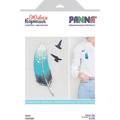 """Набор для вышивания PANNA """"Живая картина. Перо"""""""