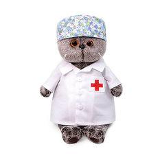 Мягкая игрушка Budi Basa Кот Басик - доктор, 30 см