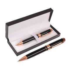 Ручка подарочная, шариковая, в кожзам футляре, поворотная, Calligrata