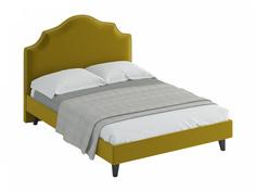Кровать queen victoria (ogogo) желтый 170x130x216 см.