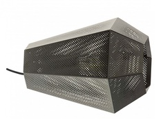 Настольная лампа декоративная chiavica (eglo) черный 17x20x25 см.