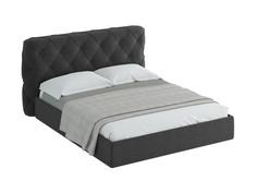 Кровать ember (ogogo) серый 209x113x237 см.