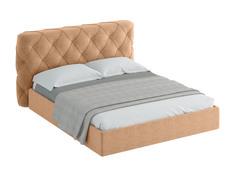 Кровать ember (ogogo) бежевый 189x113x237 см.