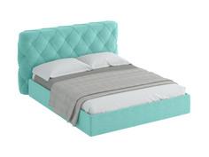 Кровать ember (ogogo) бирюзовый 209x113x237 см.