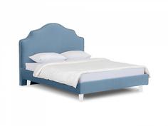 Кровать queen victoria (ogogo) голубой 170x130x216 см.