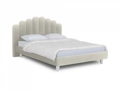 Кровать queen sharlotta (ogogo) серый 180x122x217 см.