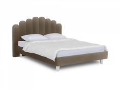 Кровать queen sharlotta (ogogo) бежевый 180x122x217 см.