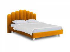Кровать queen sharlotta (ogogo) желтый 180x122x217 см.