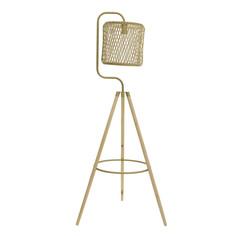 Лампа напольная kapfenberg (to4rooms) золотой 57.0x159.0x59.0 см.