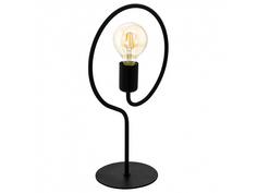 Настольная лампа cottingham (eglo) черный 15x41x25 см.