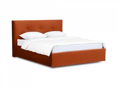 Кровать queen anna lux (ogogo) коричневый 173x107x216 см.