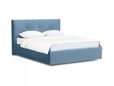 Кровать queen anna lux (ogogo) голубой 173x107x216 см.