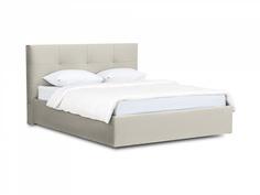 Кровать queen anna lux (ogogo) серый 173x107x216 см.