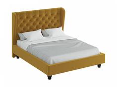 Кровать jazz (ogogo) желтый 197x146x224 см.