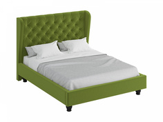 Кровать jazz (ogogo) зеленый 197x146x224 см.
