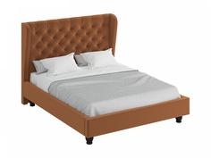 Кровать jazz (ogogo) коричневый 197x146x224 см.