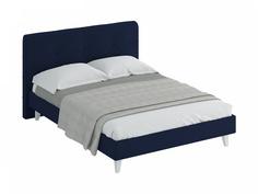 Кровать queen (ogogo) синий 173x107x216 см.