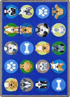Детский ковер (ravis) синий 140x200x1 см.