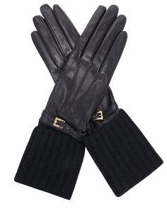 Перчатки кожаные 1G1234 Prada