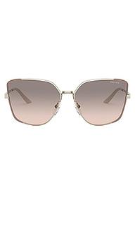 Солнцезащитные очки asia square - Prada