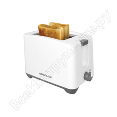 Электрический тостер ergolux elx-et02-c31 бело-серый 13971