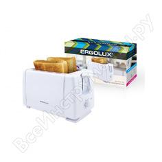 Электрический тостер ergolux elx-et01-c01 белый 13969