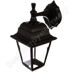 Садово-парковый светильник duwi basis бра вверх/вниз 380 мм, 60w, черный, прозрачное, пластик 24135 5