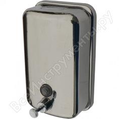 Дозатор для жидкого мыла solinne из нержавеющей стали, тм 801, полированный, 500 мл 2512.030
