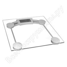 Напольные весы ergolux elx-sb01-c21 прозрачные до 180 кг 13432